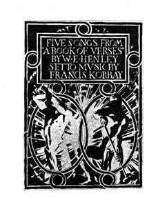 Fünf Lieder: Fünf Lieder by Francis Korbay