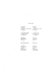 Klavierkonzert Nr.1 in fis-Moll, Op.1: Vollpartitur by Sergei Rachmaninoff