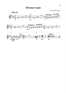 Singing sea: Singing sea by Sergej Kolgan