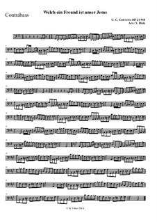 Welch ein Freund ist unser Jesus: Für Streichorchester by Charles Crozat Converse