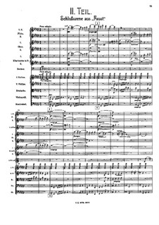 Sinfonie Nr.8 in Es-Dur: Movement II – score by Gustav Mahler