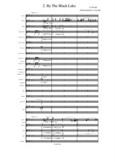 Aus dem Böhmerwald, B.133 Op.68: No.2 By the Black Lake, for symphonic orchestra by Antonín Dvořák