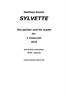 Sylvette The Painter and his Model: Sylvette The Painter and his Model by Matthias Bonitz