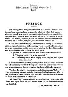 Für hohe Stimme: Nr.1-25 Heft I by Giuseppe Concone