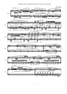 28 Sonatinas: No.28 Aegophony forwent instantiation, MVWV 1298 by Maurice Verheul