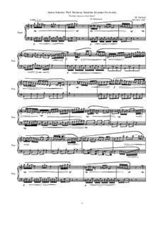 28 Sonatinas: No.20 Anton Antonio: Prof. Steinway 'Preludio Giocoso a Aria Mesto', MVWV 1291 by Maurice Verheul