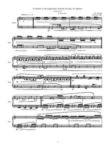 28 Sonatinas: No.18 Ei ninfóne ai sotto pagheranno 'Characteristic', MVWV 1289 by Maurice Verheul