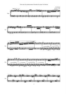 28 Sonatinas: No.13 Finto nano ha pretensionatori, MVWV1284 by Maurice Verheul