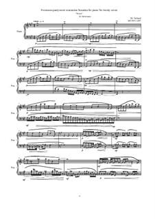 28 Sonatinas: No.27 Forenoons pantywaist venenation 'Winter', MVWv 1297 by Maurice Verheul