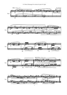 28 Sonatinas: No.8 If a Portion Shenanigan Too, MVWV 1279 by Maurice Verheul