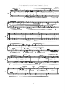 28 Sonatinas: No.14 Profane ustionata fore annoino, MVWV 1285 by Maurice Verheul