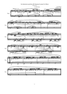 28 Sonatinas: No.15 Sa tintinnirono apofonia effe 'Capriccioso', MVWV 1286 by Maurice Verheul