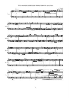 28 Sonatinas: No.23 T Wyn annotation Optionserfahrene, MVWV 1293 by Maurice Verheul
