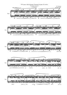 28 Sonatinas: No.12 VW sonavo infia letteranno 'Promenade (Luminosa)', MVWV 1283 by Maurice Verheul