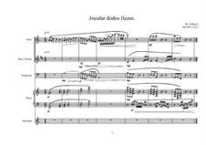 Quintet for Flute, Bass clarinet, Trombone, Marimba and Piano, MVWV 1213: Quintet for Flute, Bass clarinet, Trombone, Marimba and Piano by Maurice Verheul