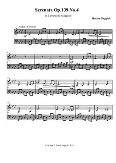 Serenatas, Op.139: Serenata No.4 in La Bemolle Maggiore by Marzia Gaggioli