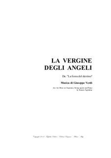 Die Macht des Schicksals: La Vergine degli Angeli, for oboe, string quartet and piano - with parts by Giuseppe Verdi