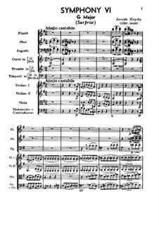 Sinfonie Nr.94 in G-Dur 'Überraschung', Hob.I/94: Teil I by Joseph Haydn