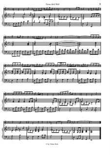 Freue dich Welt: Für Querflöte und Klavier by Georg Friedrich Händel