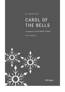 Carol of the Bells: For handbells by Mykola Leontovych