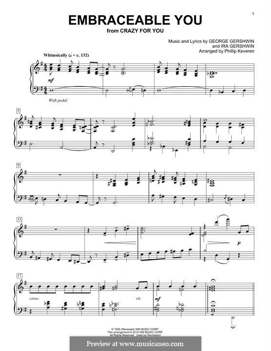 Embraceable You: Für Klavier by George Gershwin