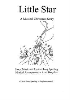 Little Star. A Musical Christmas Story: Partitur by Jerry Sperling