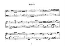 Kleines Präludium in D-Dur, BWV 925: Für Cembalo by Johann Sebastian Bach