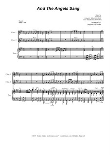 And the Angels Sang: Duet for C-Instruments by Felix Mendelssohn-Bartholdy, folklore, Richard Storrs Willis