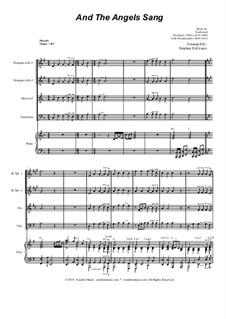 And the Angels Sang: For Brass Quartet and Piano by Felix Mendelssohn-Bartholdy, folklore, Richard Storrs Willis