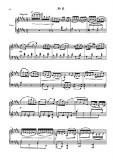24 preludies and fugues for piano: No.11 by Vladimir Polionny