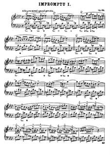 Impromptus (Sammlung): Impromptus (Sammlung) by Frédéric Chopin