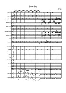 Compendium (for orchestra): Compendium (for orchestra) by Jordan Grigg
