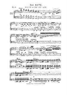 Le pré aux clercs: Akt II, für Solisten, Chor und Klavier by Ferdinand Herold