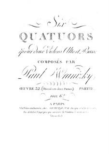 Sechs Streichquartette, Op.32: Quartette Nr.4-6 by Paul Wranitzky