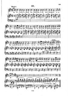 Nr.3 Die Rose, die Lilie: Klavierauszug mit Singstimmen (D-Dur) by Robert Schumann
