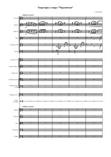 Die Pantöffelchen, TH 8: Ouvertüre by Pjotr Tschaikowski
