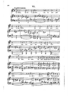 Nr.6 Im Rhein, im heiligen Strome: Klavierauszug mit Singstimmen by Robert Schumann