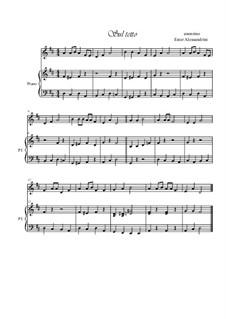 Sul tetto: Für Violine und Klavier by folklore