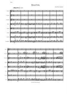 Bossa Folia: For string orchestra by David W Solomons