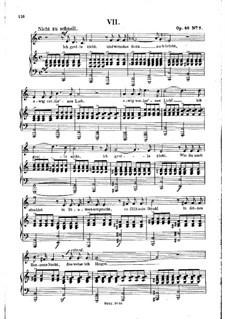Nr.7 Ich grolle nicht: Klavierauszug mit Singstimmen by Robert Schumann