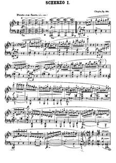 Scherzos (Sammlung): Scherzos (Sammlung) by Frédéric Chopin