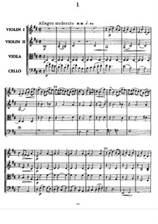 Streichquartett Nr.2 In D-Dur: Vollpartitur by Alexander Porfiryevich Borodin