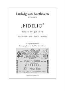 Fragmente: Vier Sätze, für Orgel by Ludwig van Beethoven