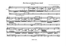 Da Jesus an dem Kreuze stund, BWV 621: Für Orgel by Johann Sebastian Bach