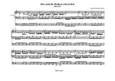 Dies sind die heil'gen zehn Gebot', BWV 635: Für Orgel by Johann Sebastian Bach