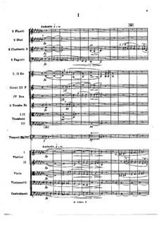 Sinfonie Nr.1 in e-Moll, Op.1: Vollpartitur by Nikolai Rimsky-Korsakov