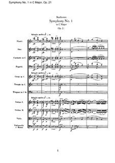 Симфонии Nos.1-9: Симфонии Nos.1-9 by Ludwig van Beethoven