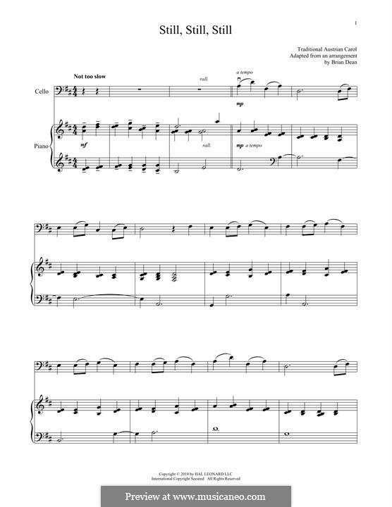 Still, Still, Still: Für Cello und Klavier by folklore