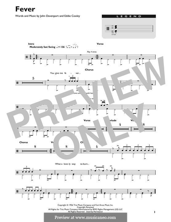 Fever: Drum set by Eddie Cooley, John Davenport