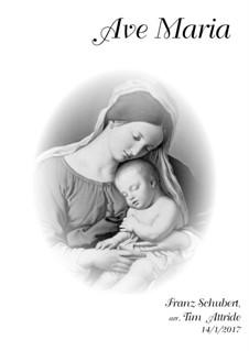 Ave Maria, D.839 Op.52 No.6: SA and organ by Franz Schubert